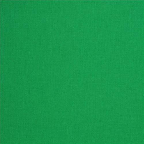 Tela color liso verde oscuro Robert Kaufman EEUU Clover ...