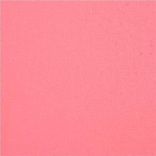 Tessuto Rosa Tinta Unita Kona Robert Kaufman Usa Pink Flamingo