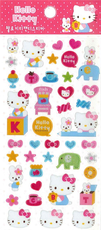 hello kitty sticker aufkleber kawaii cute sss