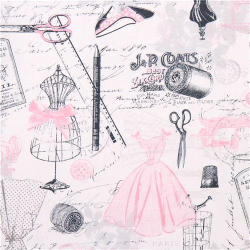 tissu timeless treasures r tro mode paris couture tailleur tissus r tro tissus boutique. Black Bedroom Furniture Sets. Home Design Ideas
