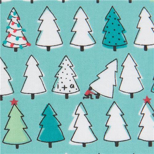 Christmas Tree Fabric