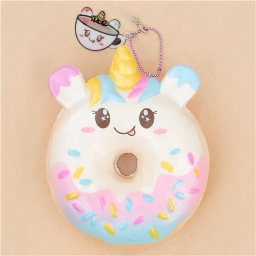 Squishy Donut Unicorn : unicorn animal donut squishy by Puni Maru - Puni Maru Squishy - Squishies - Kawaii Shop modeS4u