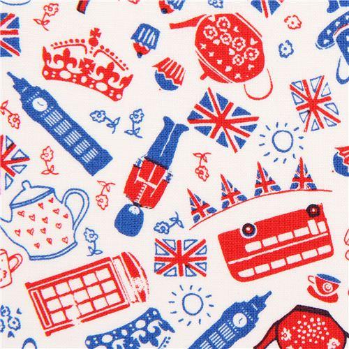 Tela blanca iconos brit nicos londres de timeless for Telas del sur