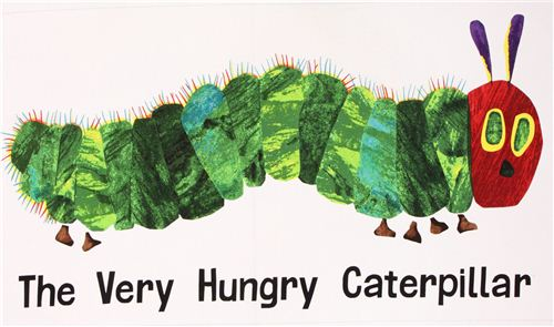 white the very hungry caterpillar panel fabric andover fairy tale fabric fabric kawaii. Black Bedroom Furniture Sets. Home Design Ideas