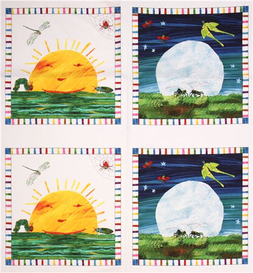 White The Very Hungry Caterpillar Sun And Moon Panel