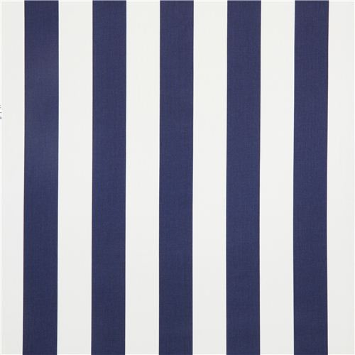 White Blue Striped Michael Miller Fabric From The Usa 2