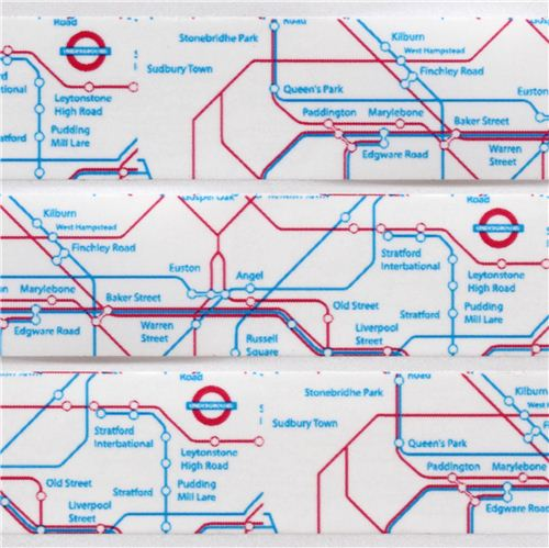 white london underground tube map design deco tape - Other Cute Tape ...