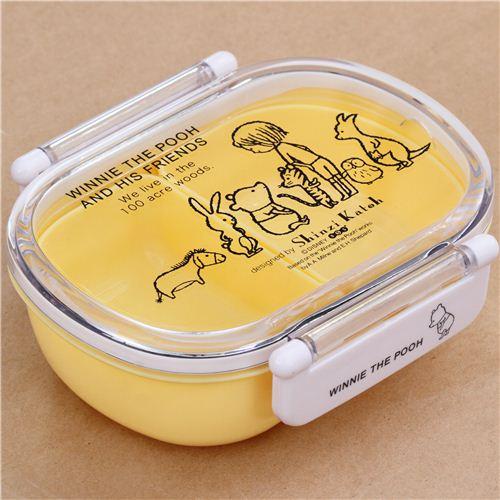 yellow Shinzi Katoh Winnie the Pooh Disney Bento Box Lunch Box from Japan 2  sc 1 st  modeS4u & yellow Shinzi Katoh Winnie the Pooh Disney Bento Box Lunch Box ... Aboutintivar.Com