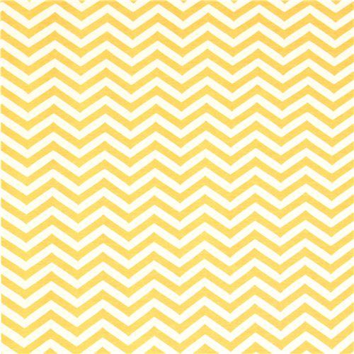 yellow chevron pattern organic knit fabric birch USA 2