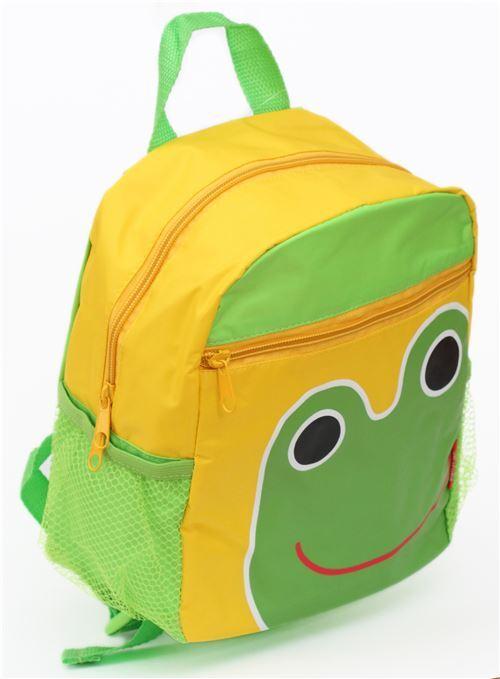 yellow green frog childrens backpack school bag - Backpacks - Bags ...